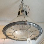Industrial Lighting Over a Kitchen Island