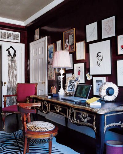 Park Avenue Study, Elle Decor