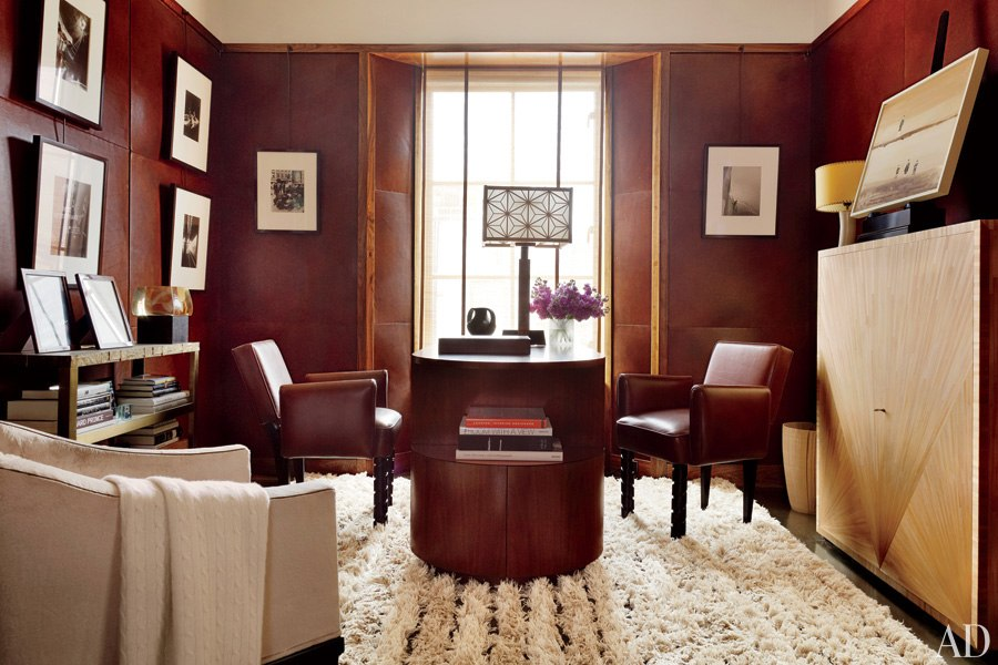 Warm and Modern New York City Apartment, Architectural Digest