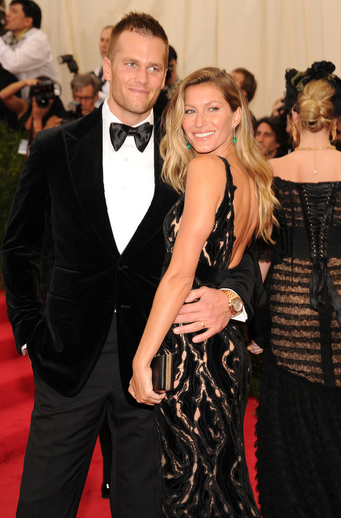 Gisele Bundchen & Tom Brady via PopSugar